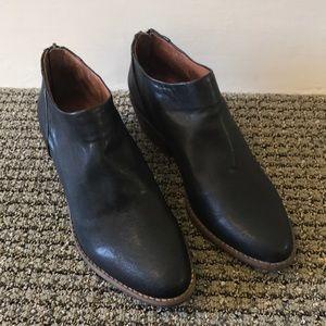 NWOB Lucky Brand Leather Booties!